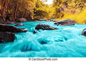 Tat Ton waterfall in Tat-Ton national park in Chaiyaphum...