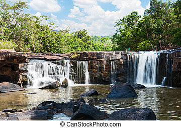 Waterfall, Tat Ton, Chaiyaphum, Thailand