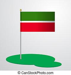 Tatarstan Flag Pole