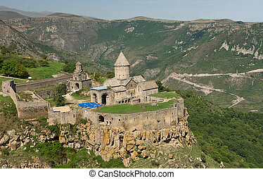 Tatev monastery in southern Armenia