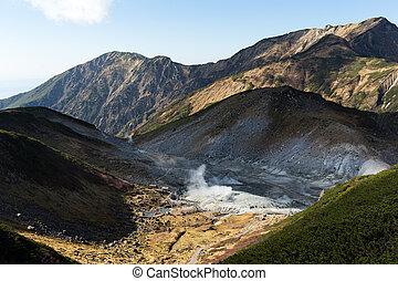 tateyama, tracciato, kurobe, alpino