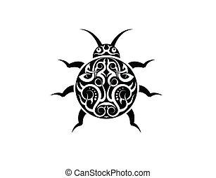 tatoeëren, lievevrouwbeestje