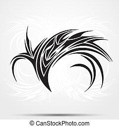 tatoeëren, van een stam