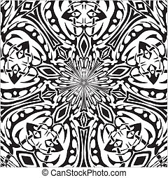 tatoeëren, van een stam, stijl