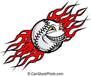 tatouage, base-ball