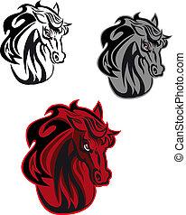tatouage, cheval