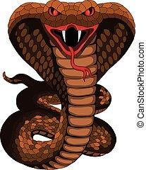 tatouage, cobra