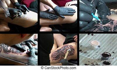 tatouage, compilation