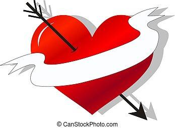 photos et images de amour coeur fl che tatouage 786. Black Bedroom Furniture Sets. Home Design Ideas