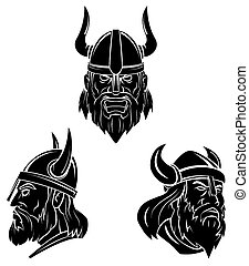 Viking ancien mystique symbole orn scandinave - Symbole viking tatouage ...