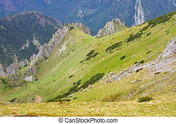 Tatra Mountains in summer, Poland