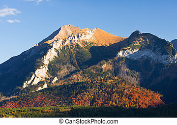 tatry, paisagem montanha, polônia, eeriness