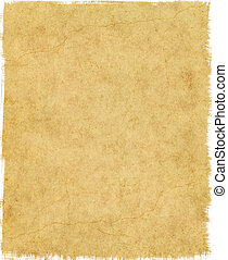 Tattered Edge Paper - Old vintage paper with tattered edges ...