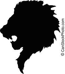 tattoo-2, testa, leone