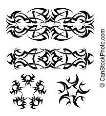 Tattoo Armband Star