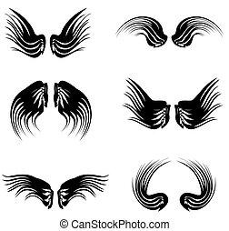 tattoo black wings pack