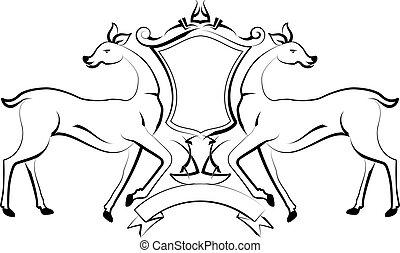 Tattoo Deer Design