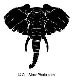 Tattoo Elephant Symbol