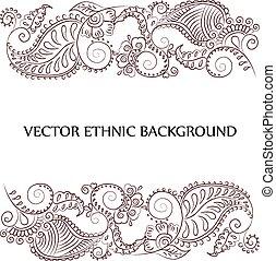 tattoo henna background