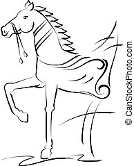 Tattoo Horse Design