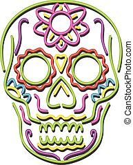 tattoo-sugar-skull-NEON
