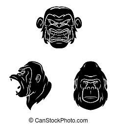 Tattoo Symbol Of Gorilla Tattoo
