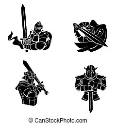 Tattoo Symbol Of Knight Warrior