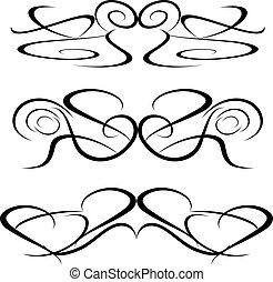 tattoo Tribal art design elements