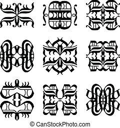 tattoo tribal vector