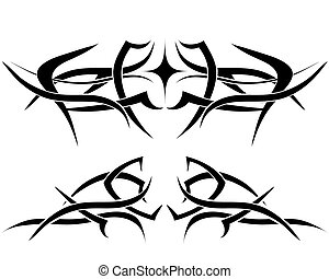 tattoos, set