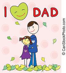 tatuś, miłość, l