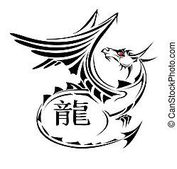tatuagem, dragão