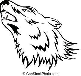 tatuagem, lobo