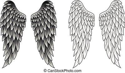 tatuaggio, ali