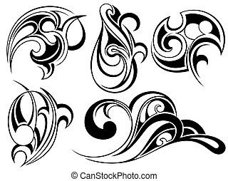 tatuaggio, art tribale