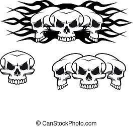 tatuaggio, crani