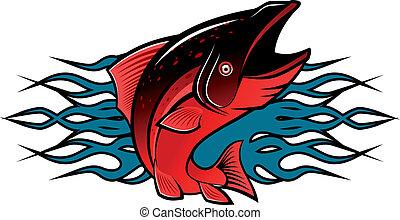 tatuaggio, fish