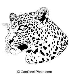 tatuaggio, leopardo