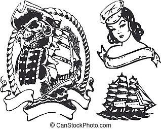tatuaggio, sirena