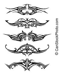 tatuaggio, tribale