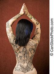 tatuajes, mujer
