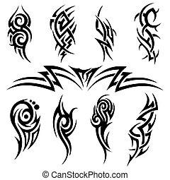 tatuera, stam