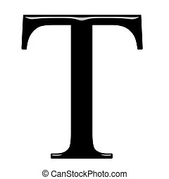 tau, 3d, 手紙, ギリシャ語
