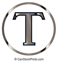 Tau Greek Letter