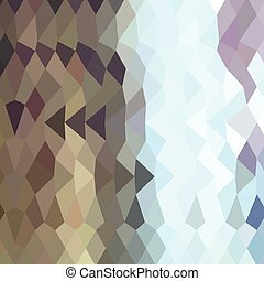 Taupe Abstract Low Polygon Background - Low polygon style...
