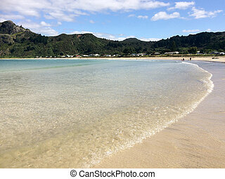 Taupo Bay in Northland, New Zealand
