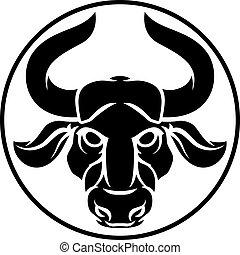 taureau, taureau, zodiaque, horoscope, signe astrologie