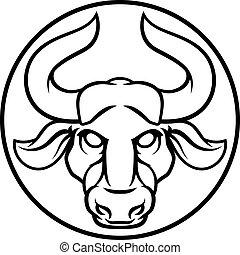 Taurus Bull Astrology Horoscope Zodiac Sign