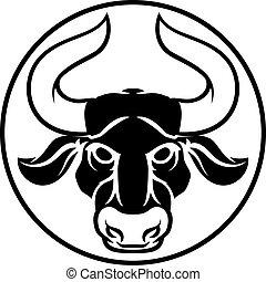 Taurus Bull Horoscope Zodiac Sign