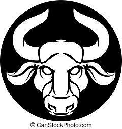 Taurus Bull Zodiac Astrology Sign - Zodiac signs circular...